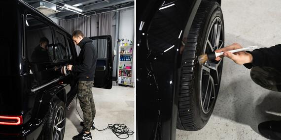 Exteriérové a interiérové ručné umytie vozidla v Easycars/Bratislava - Rača