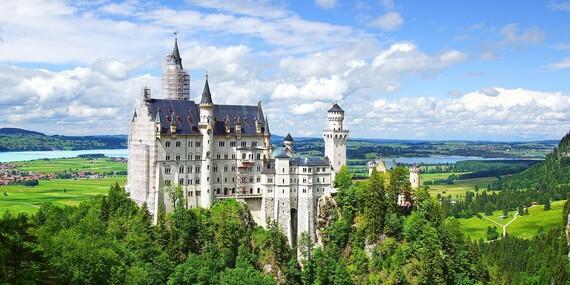 Nádherné bavorské zámky a príbeh kráľa Ludwiga II./Nemecko - Bavorsko