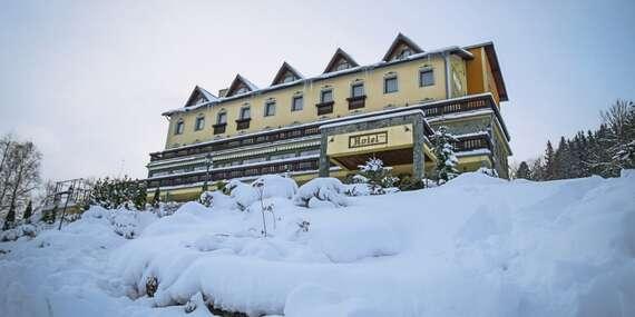 Zima na Kysuciach pri bežkárskej magistrále v Hoteli Husárik**** – dovolenka v čistej prírode s regionálnymi špecialitami / Kysuce - Čadca
