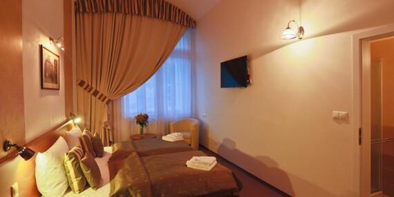 Romantické ubytování pod Vyšehradem na 1 až 2 noci v Hotelu U Svatého Jana*** se snídaní/Praha 2