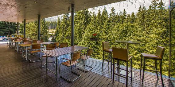 Rodinný hotel Ostredok*** s polpenziou a panoramatickým výhľadom na Jasnú/Nízke Tatry - Jasná