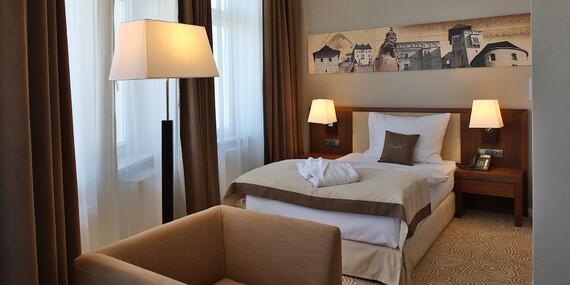 Luxusný pobyt s exkluzívnym wellness, prvotriednymi službami a špičkovou gastronómiou v hoteli Elizabeth****/Trenčín