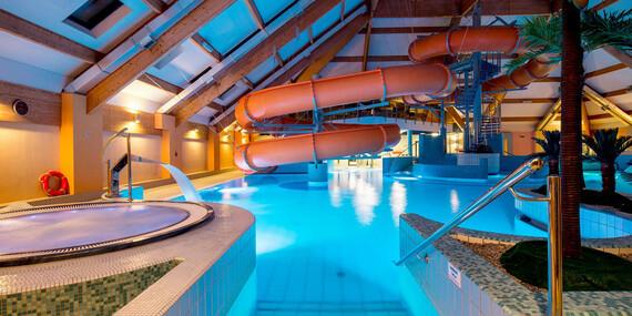 Poľský aquapark Olza hneď vedľa lyžiarskeho svahu a s výnimočne dlhou platnosťou/Poľsko - Istebna