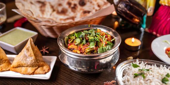 Indické 4-chodové menu pre 2 osoby v Punjabi Dhaba na Hlbokej ceste/Bratislava - Staré Mesto