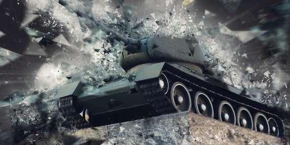 Adrenalínová jazda tankom s platnosťou až do novembra 2020/Oščadnica - Kysuce