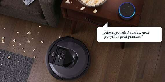 Posledná šanca: iRobot Roomba i7+ – robotický vysávač s automatickým vyprázdňovaním načistôt/Slovensko