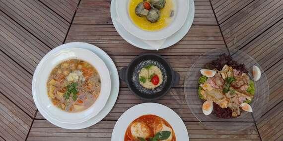 Talianske 3-chodové menu pre 2 osoby v reštaurácii HLAVNÁ 100 v srdci Košíc/Košice