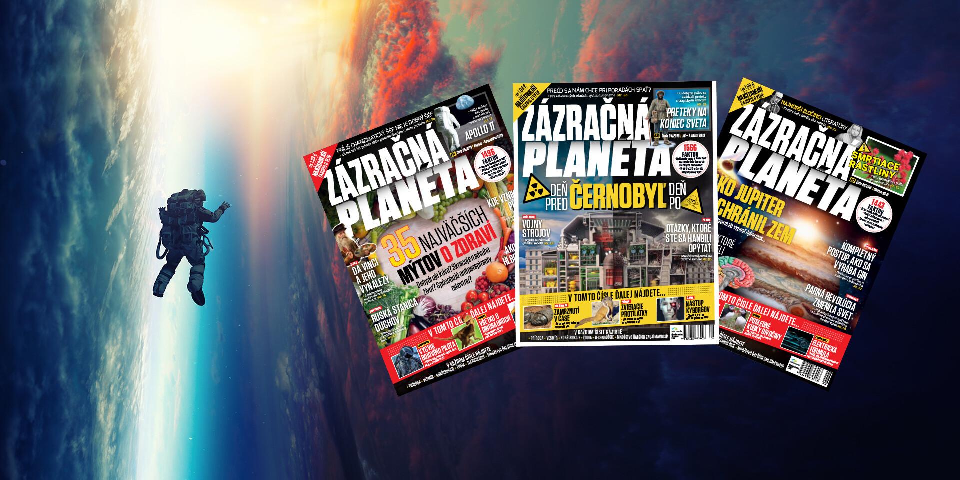 Ročné predplatné časopisu Zázračná planéta