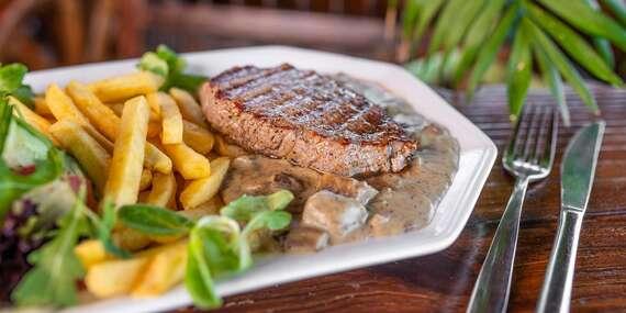 Rump steak tej najvyššej kvality / Bratislava - Petržalka - Draždiak