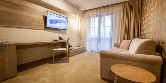 Luxus alebo romantika v GRAND HOTELI BELLEVUE**** s polpenziou a novým wellness/Vysoké Tatry - Horný Smokovec