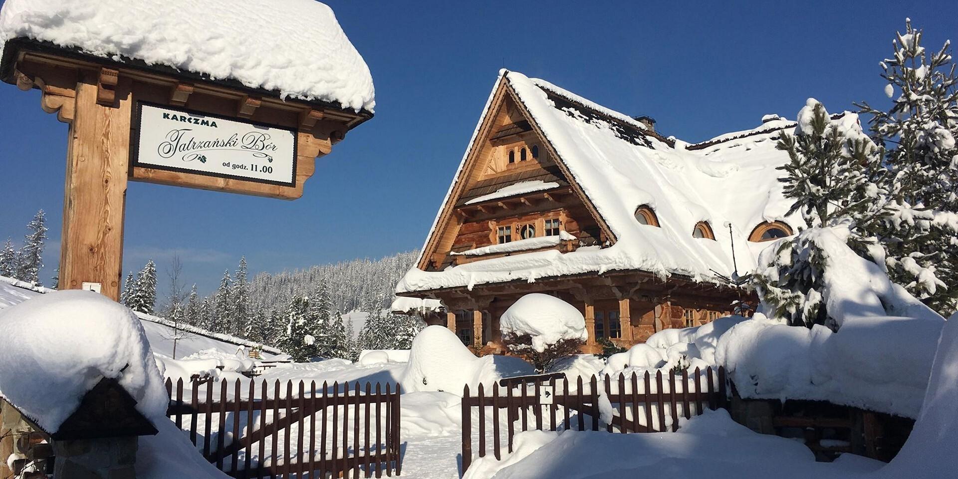 Nadštandardné izby vo vynikajúcom penzióne Tatrzanski Bór blízko 3 aquaparkov a ski centier