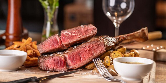 Tatarák alebo šťavnatý tomahawk steak pre 2 osoby/Bratislava – Ružinov