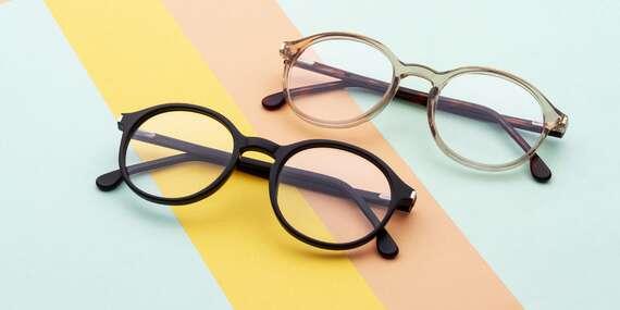 Dioptrické okuliare so šošovkami vrátane poštovného/Slovensko