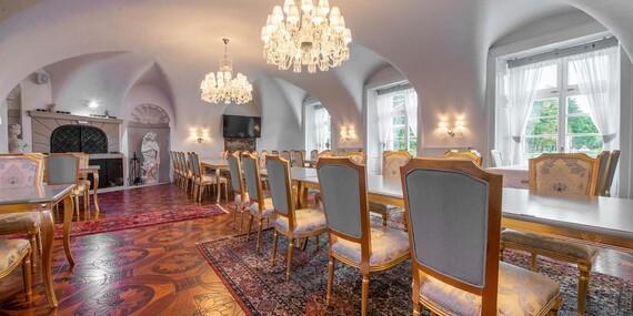 Pobyt ako z rozprávky – v bernolákovskom kaštieli Theresia Chateau/Bernolákovo