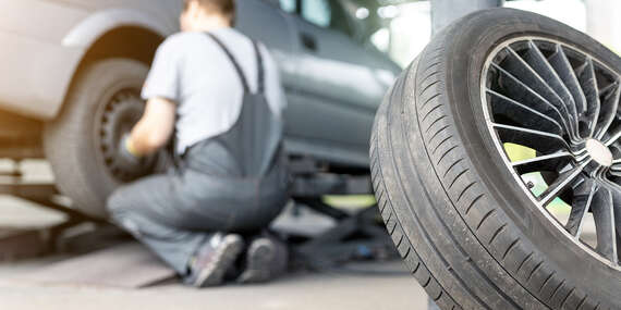 Výmena kolies, kompletné prezutie s vyvážením alebo uskladnenie pneumatík aj diskov/Trnava
