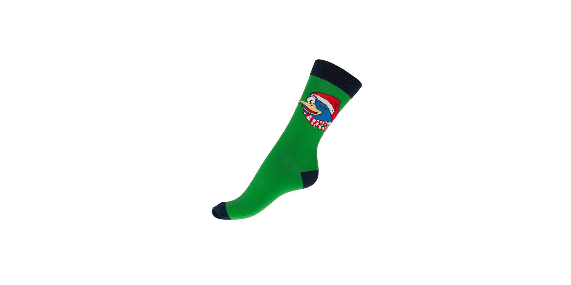 NOVINKA: Pohodlné farebné ponožky GOSH s voľným lemom (18 vzorov...