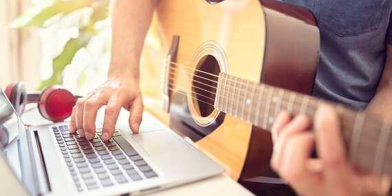 Online kurzy hraní na kytaru pro začátečníky i pokročilé pod vedením zkušeného lektora/ČR