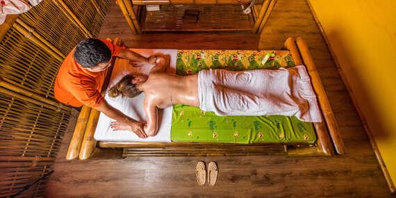 Exkluzívna thajská olejová masáž v jednom z najobľúbenejších salónov v centre mesta/Bratislava – Staré Mesto