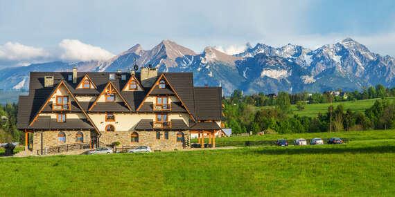 Nádhera poľských Tatier s ubytovaním v penzióne Silverton len 2,5 km od Terma Bania / Poľsko - Bialka Tatrzanska