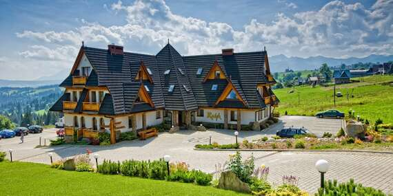 Letní dovolená v polském hotelu Redyk *** s polopenzí a volným vstupem do SPA / Poľsko - Zab v Zakopanom