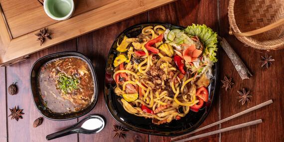 Ázijské jedlá vo vietnamskej reštaurácii Sapa Quan/Podunajské Biskupice