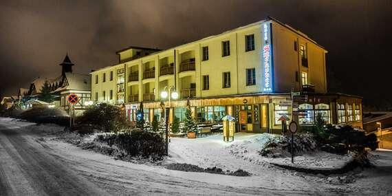 Dovolenka v centre Tatier v Hoteli Smokovec *** s polpenziou a wellness alebo plnou penziou/Vysoké Tatry - Starý Smokovec
