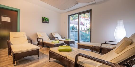 Výnimočný zážitok v 4* hoteli PANORAMA****: Wellness, masáž alebo trojchodové menu/Trenčianske Teplice