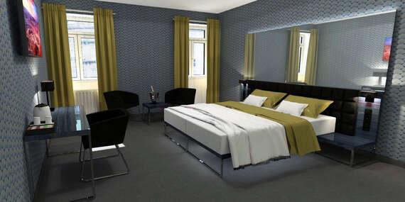 Vynovený hotel Mucha**** v historickom centre Prahy, len pár krokov od Námestia Republiky/Praha - Česko