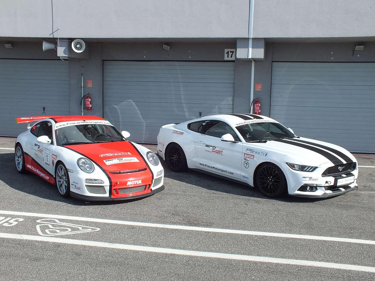 Jazda na pretekárskom okruhu Slovakia Ring na vozidle podľa vášho výberu: Jazda na Porsche GT3 alebo Mustangu GT V8