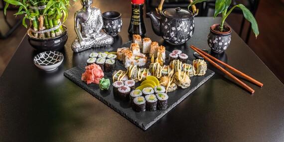Fugu Sushi – 14 alebo 34 kúskov v novej prevádzke v Starom Meste / Bratislava – Staré Mesto