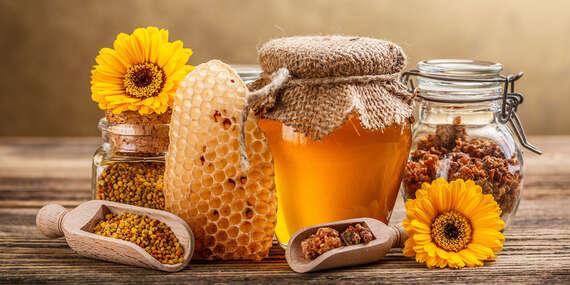 Včelie produkty: domáce medy, propolisová tinktúra, peľ a medové mydlá/Slovensko