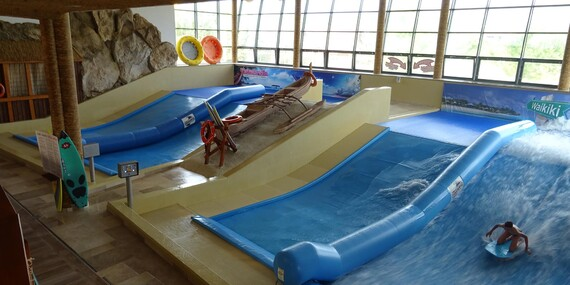 Chatka priamo v rezorte aquaparku + zľava na multivstup do aquaparku Tatralandie/Liptovský Mikuláš