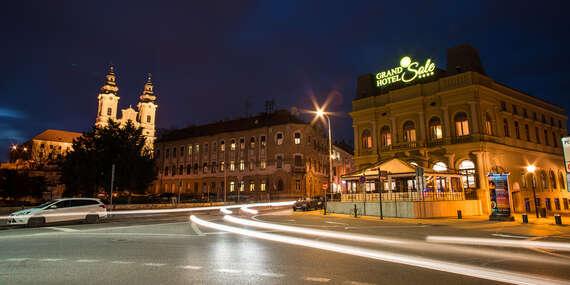 Grand Hotel Sole****: Historický hotel v centre Nitry / Nitra