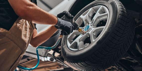 Kompletné prehodenie alebo prezutie pneumatík s vyvážením/Košice