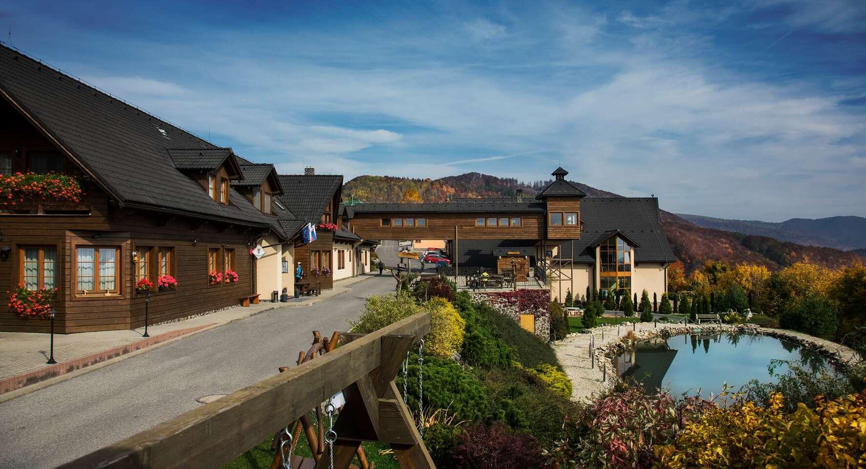 Novinka: Leto v horskom prostredí Starohorských vrchov vo Fuggerovom Dvore s panoramatickým výhľadom