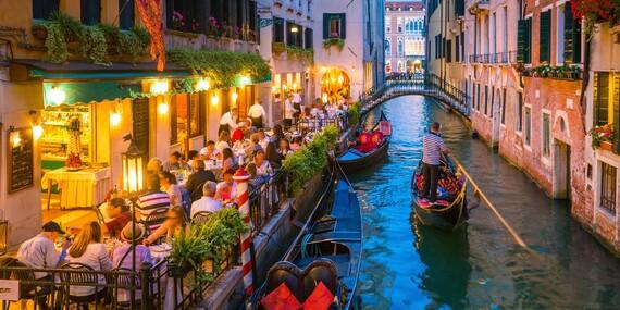 3denní zájezd do Benátek s možností vyplout na ostrovy Murano a Burano/Itálie - Benátky