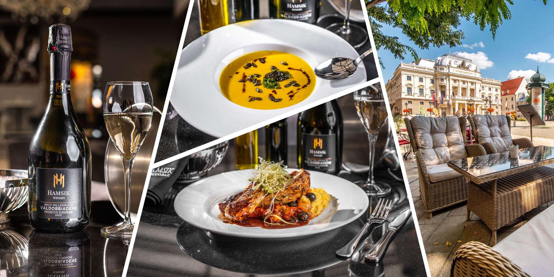 Degustačné menu v Hamsik Prosecco Bar & Restaurant