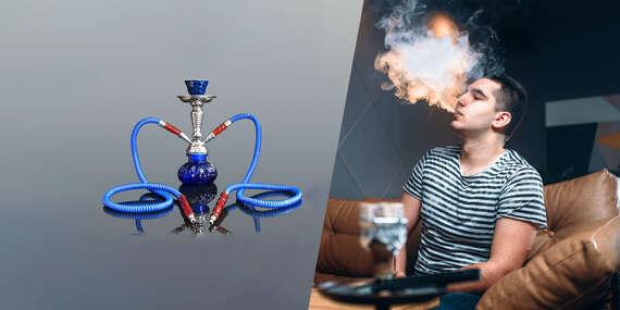 Vodná fajka - shisha pre chvíle úplného relaxu (3 druhy)/Slovensko