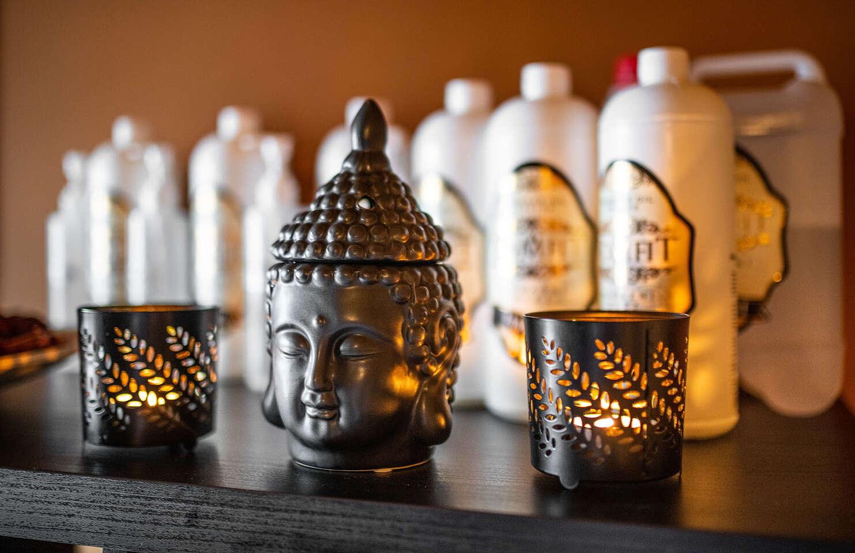 Dotyk Thajska pri masážach od pravých Thajčaniek