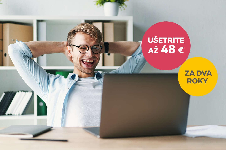 Zľava 2 € mesačne z ceny UPC Digitálnej TV alebo UPC Internetu na celé 2 roky
