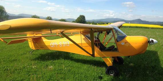 Pilotom na skúšku na lietadle Fox/Šurany, Nitra, Tekovský Hrádok, Nové Zámky