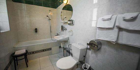 Relaxačný pobyt pre 1 osobu s polpenziou, wellness a masážou v jedinečnom hoteli MOST SLÁVY***/Trenčianske Teplice