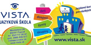 Kurz anglického jazyka v jazykovej škole Vista