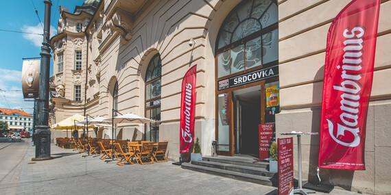 Darčeková poukážka na gastronomický zážitok v reštaurácii Srdcovka Reduta/Bratislava - Staré Mesto