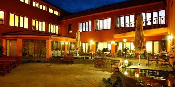 Neobmedzený wellness pobyt v Malokarpatskej vínnej oblasti v hoteli Majolika**** s polpenziou, iba 25 km od Bratislavy/Modra