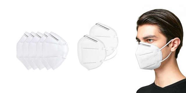 Ochranná maska na tvár s ochranným filtrom KN95 bez ventilu – doručenie do 24 hodín