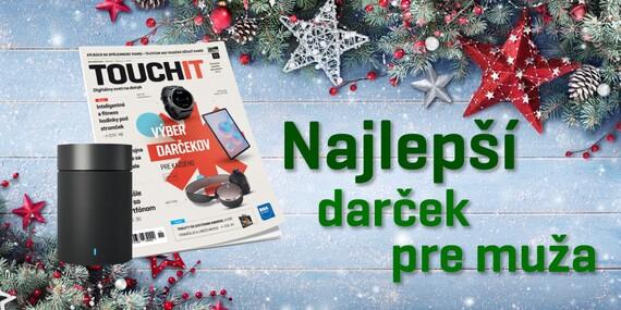 Ročné predplatné časopisu TOUCHIT + Xiaomi reproduktor či powerbanka ako darček / Slovensko