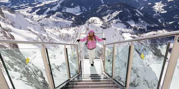 Adrenalinový jednodenní výlet do rakouského Dachsteinu: Nebeská stezka, visutý most a Schody do prázdna/Dachstein - Rakousko