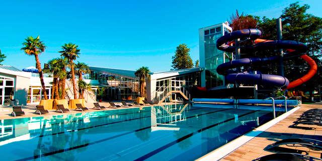 Rodinný wellness pobyt so vstupom do Spa & Aquapark Turčianske Teplice v Hoteli Rezident*** + dieťa do 12 r v cene