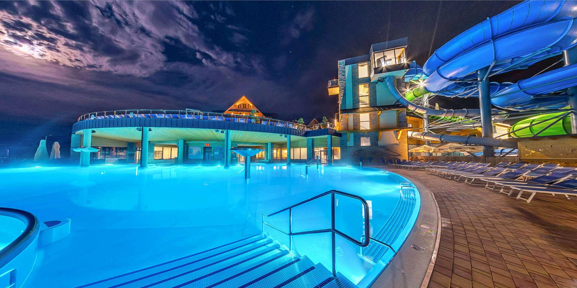TOP poľský aquapark Chocholowskie Termy s 30 bazénmi na 2 poschodiach